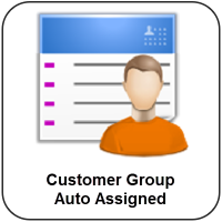 Customer Group Auto Assigned